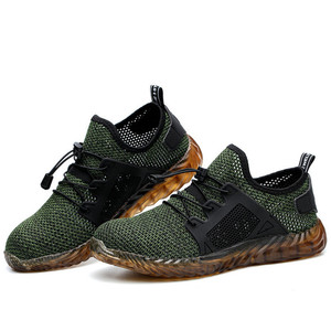 Image 5 - Dropshipping Indestructible Ryder Shoes Men And Women Steel Toe Air Safety Boots Puncture Proof Work Sneakers Breathable Shoes