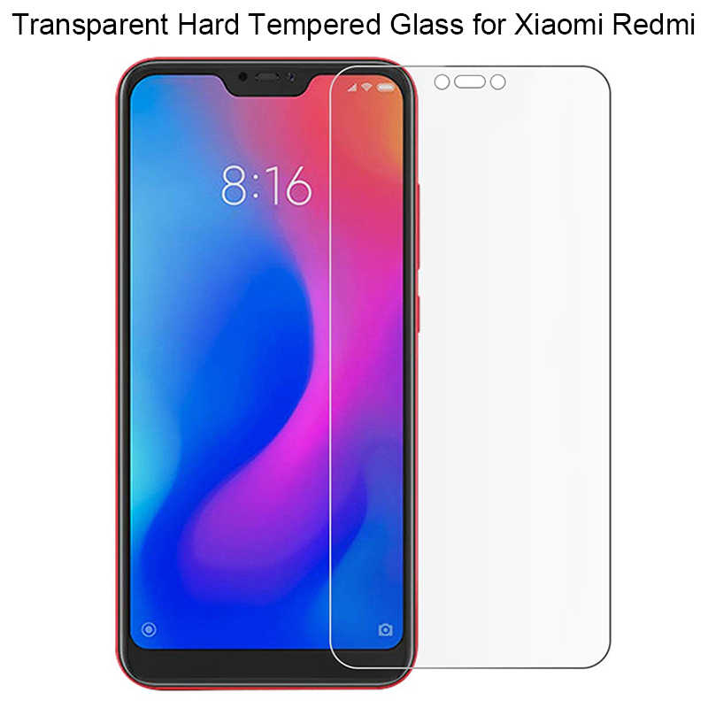 Smartphone 9H Tempered Glass for Xiaomi Mi A2 Lite Redmi 6 Pro 6A Note 5 S2 y2 Plus 4 Protective Film Screen Protector cover