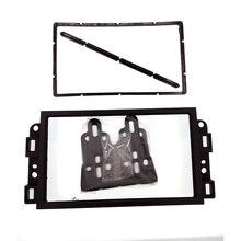 Двухместный 2 DIN автомобильный DVD Рамка, аудио Место адаптер, тире отделкой Наборы, Фризовая для Chevrolet Captiva/LOVA/gentra/Aveo