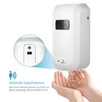 1000ml Automatic Liquid Soap Dispenser Smart Sensor Touchless Sanitizer Dispensador for Kitchen Bathroom Soap Dispenser Holder
