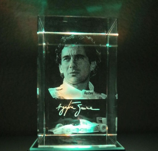 10pcs-lot-customized-3d-laser-font-b-senna-b-font-racing-driver-crystal-paperweight-with-led-light-base-crystal-business-gift