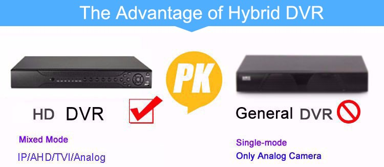 the advantage of hd hybrid dvr