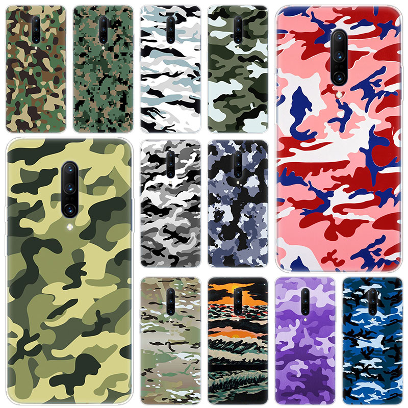 Hot Army Camo Camouflage Soft Silicone Fashion Transparent Case For font b OnePlus b font font