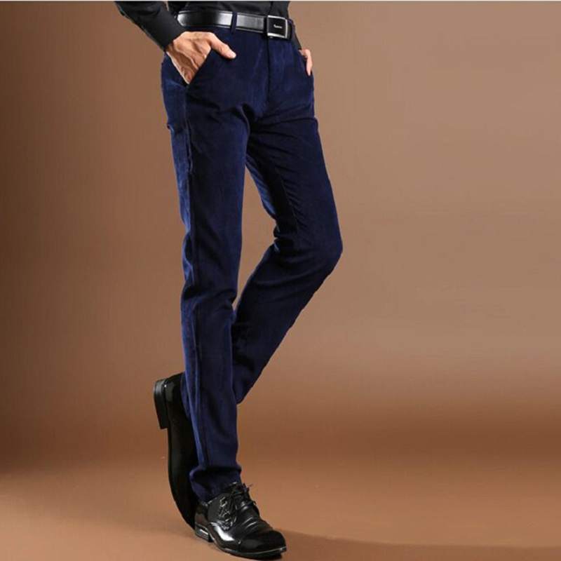 Navy Corduroy Trousers Promotion-Shop for Promotional Navy ...