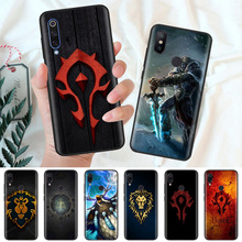 Black Silicone Case Bag Cover for Xiaomi Mi A1 A2 8 Lite Play Redmi Note 7 6 6A 5 Plus 4X Pro Poco F1 Wows World of Warcraft стоимость