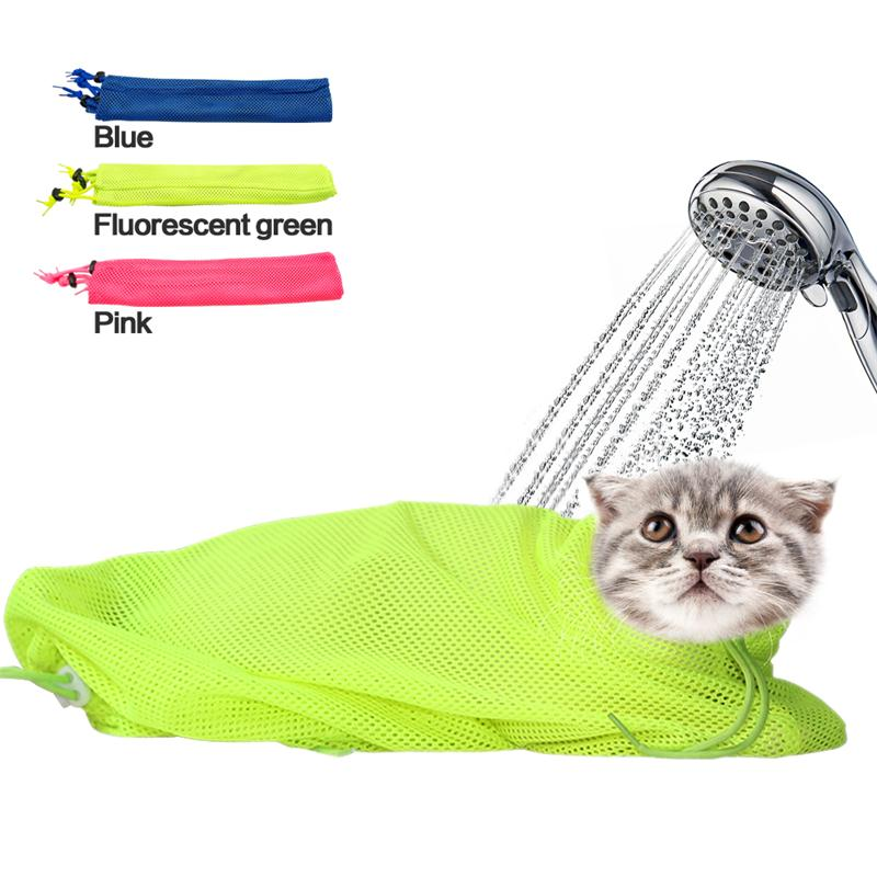 New Mesh Cat Grooming Bathing Bag No Scratching Biting Restraint for Bathing Nail Trimming Injecting Examing New Cat Grooming Bathing Bag New Cat Grooming Bathing Bag HTB1 New Cat Grooming Bathing Bag New Cat Grooming Bathing Bag HTB1