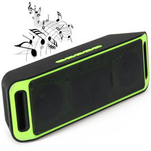 K812 Bluetooth V2.1 Stereo Bass Speaker Support Handsfree Call Mic FM Radio AUX USB TF Card Input Mp3 Loudspeaker(China)