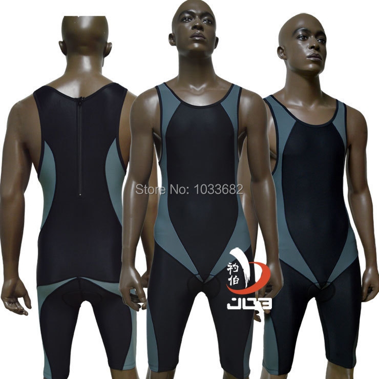 JOB Ironman triathlon swimsuit mens one piece swimwear running cycling wear sportswear mens racing swimsuits athletic swimwear competition racing one piece swimsuit