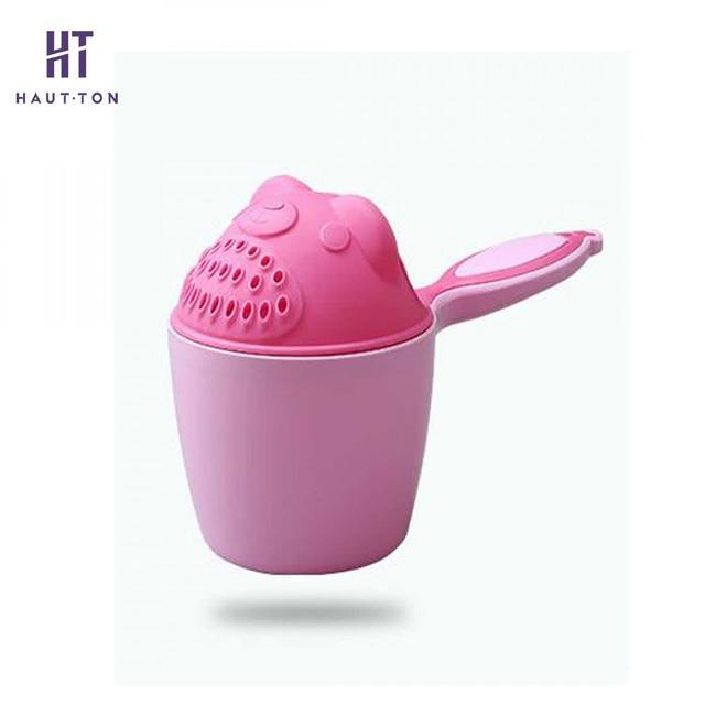 1pcs Cartoon Baby Bath Shampoo Cup Children Bathing Caps Baby Shower Spoons Child Washing Hair Cup Bathroom Accessories G   5