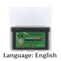 32 Bit Video Game Cartridge Megaman Battle Network 5 Team Protoman Console Card UKV Version English Language Support Drop Ship