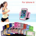 New Phone Cases Brassard Sport Running Jogging Gym Arm Band Case Holder Brazalete Deportivo for Apple iPhone 6