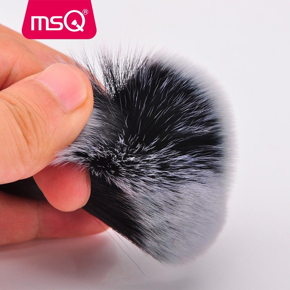 Image 4 - MSQ 15pcs Makeup Brushes Set pincel maquiagem Black Classical Powder Foundation Eyeshadow Make Up Brushes Synthetic Hairmakeup brush setbrush setset beauty -