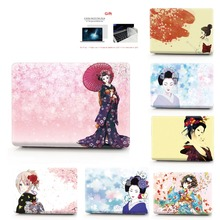 Kimono color printing notebook case for Macbook Air 11 13 Pro Retina 12 15 inch Colors Touch Bar New or