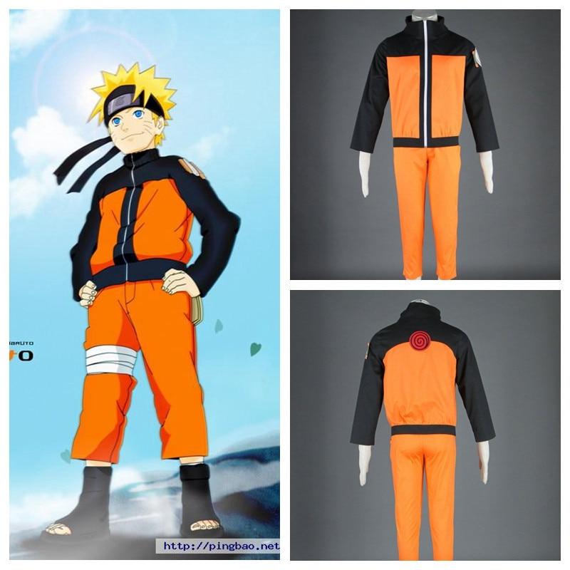2018  NARUTO Uzumaki Naruto anime cosplay halloween costume