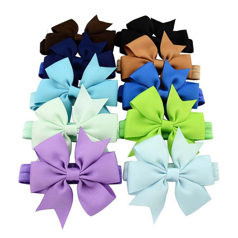 1PCS Lovely Headband Girl Headwear Bow Hairpin For Girls,Hair Band For Kids Claws DIY Bowknot Headwear Hair Accessories 2017 diy lovely baby big bow plaid headwrap for kids bowknot hair accessories children cotton headband girls gifts