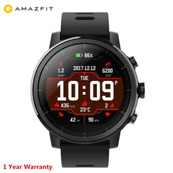 New Xiaomi Huami Gloable version Amazfit Stratos 2 Smart Watch Sport GPS 5ATM Water 2.5D GPS Firstbeat Swimming Smartwatch