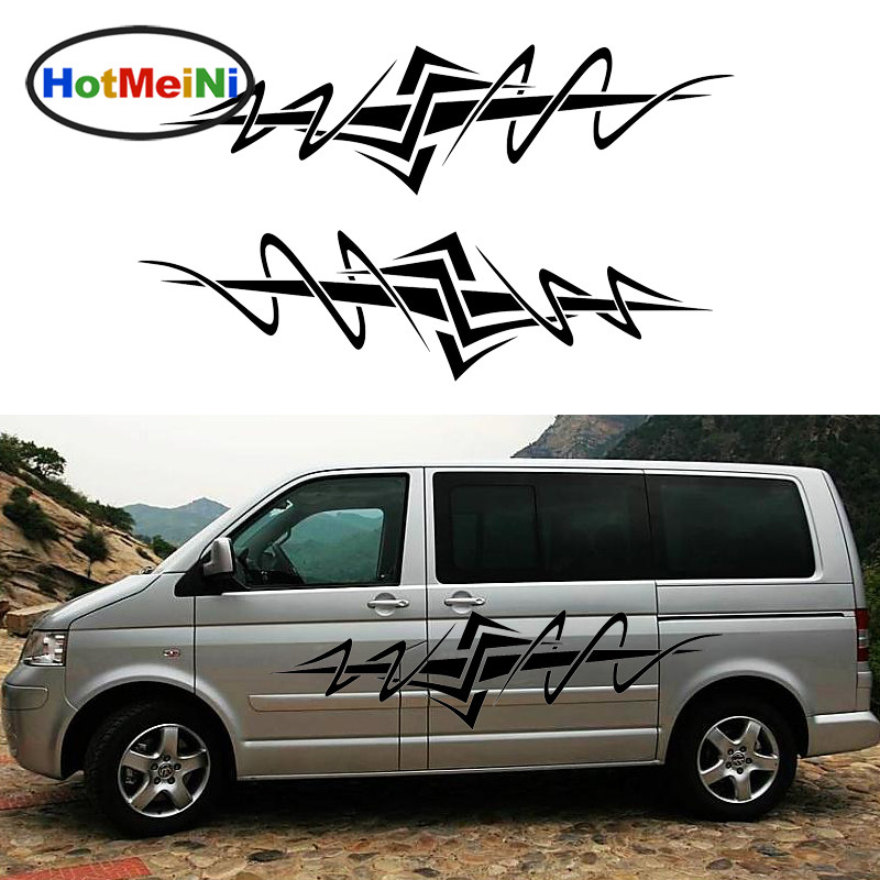 HotMeiNi 2 X Freedom Jump Star Sword personalized car sticker stripes For Motorhome Camper Van Door side Vinyl Decal 10 Colors hotmeini car sticker jdm body decorative side door suv decal reflective van fridge 2 pcs punisher military army star 50 50cm