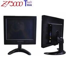 Garantía 1 año nuevo stock 8 pulgadas 4:3 800*600 led 1 * VGA 1 * HDMI 1 * AV entrada de dc12v 4 hilos monitor de pantalla táctil resistiva usb para coche