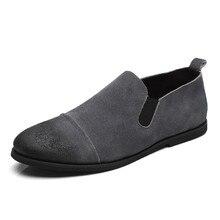 2016 Лето Мужчины Скольжения На Случайные Shoese Открытый Замши Плоские Туфли Chaussure человека Рыбак Обувь Zapatos Hombre XK080510