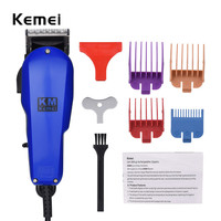 Kemei Powerful Precision Hair Clipper Professional Electric Hair Trimmer 220 240V Quiet Hair Trimer For Men Baby Barber Haircut