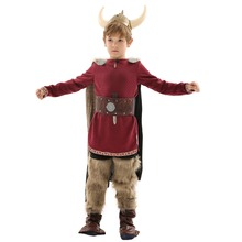 48e317b6a98b32 3-9 Years Old Boy Vikings Costume Role-Play for Cosplay Theme Party,