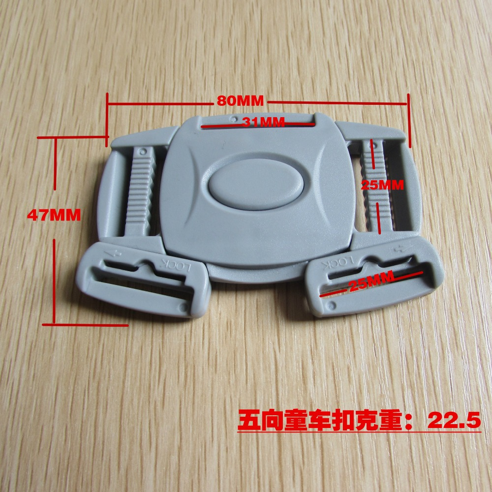 Multi-point buckle for restraint system