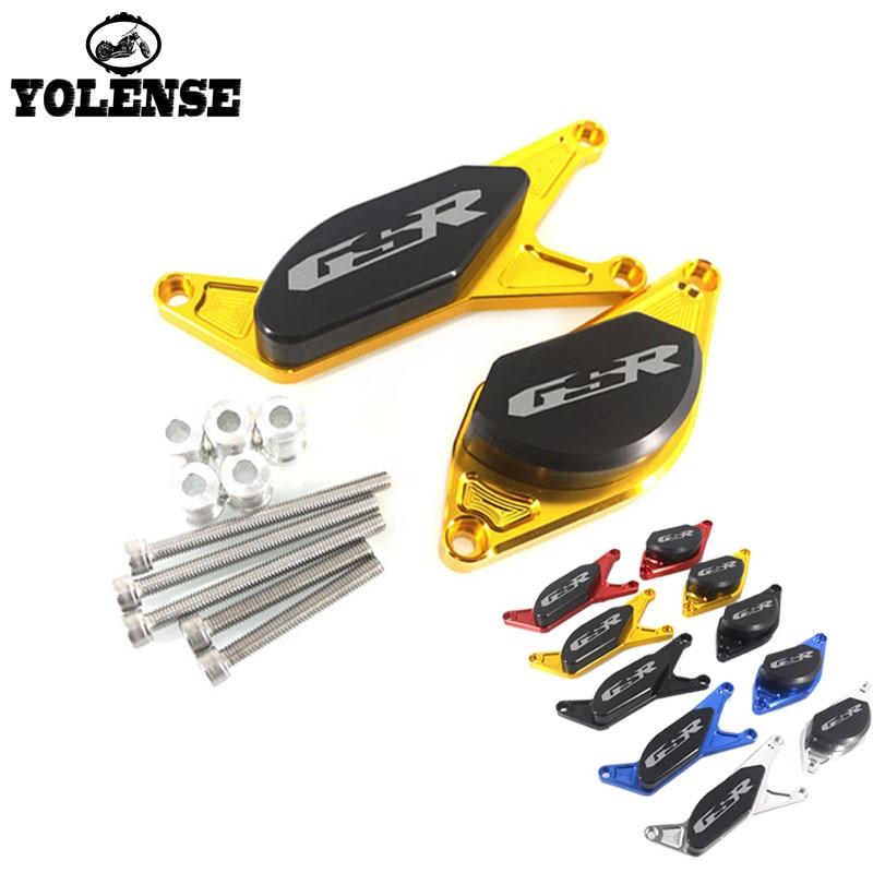 Pour SUZUKI GSR600 GSR400 GSR750 GSR 600 400 750 2006-2012 2011 2010 moto moteur Crash garde Stator couverture curseur protecteur