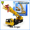 Mr.Froger Mega Lifter model 1:55 Refined metal Engineering Crane Construction vehicles Decoration Classic children Toy gift