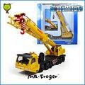 Mr. Froger Mega modelo 1:55 de metal Refinado Elevador Grúa Ingeniería vehículos de Construcción Clásica Decoración De Juguete de regalo para niños