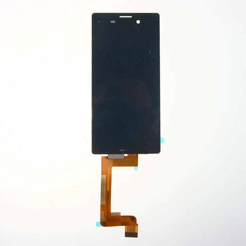 10pcs/lot 100% Original LCD Display Touch Screen Digitizer Assembly For Sony Xperia M4 Aqua Black Free Shipping
