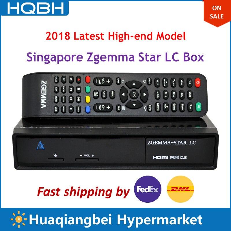 Haut de gamme singapour Starhub numérique câble TV boîte Zgemma Star LC Ultra HD décodeur TV récepteur