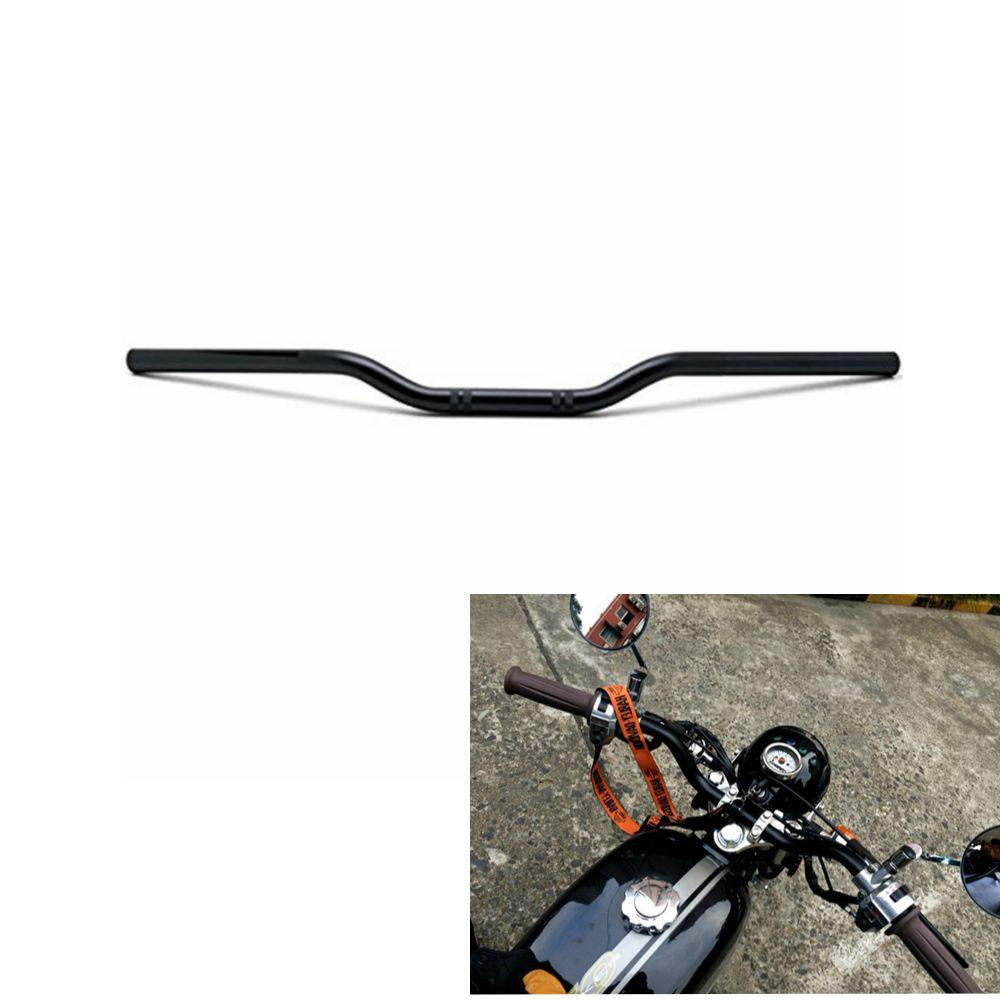 Universal Retro Motorcycle Handlebar 7 8inch 22mm Euro Style for Cruiser Racer Bike Motorbike Motocross Steel Pipe Handle Bar