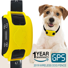 2020 All New Hot Wireless Electric Dog Fence GPS Outdoor Containment System Transmitter Collar Rechargeable Waterproof цена 2017