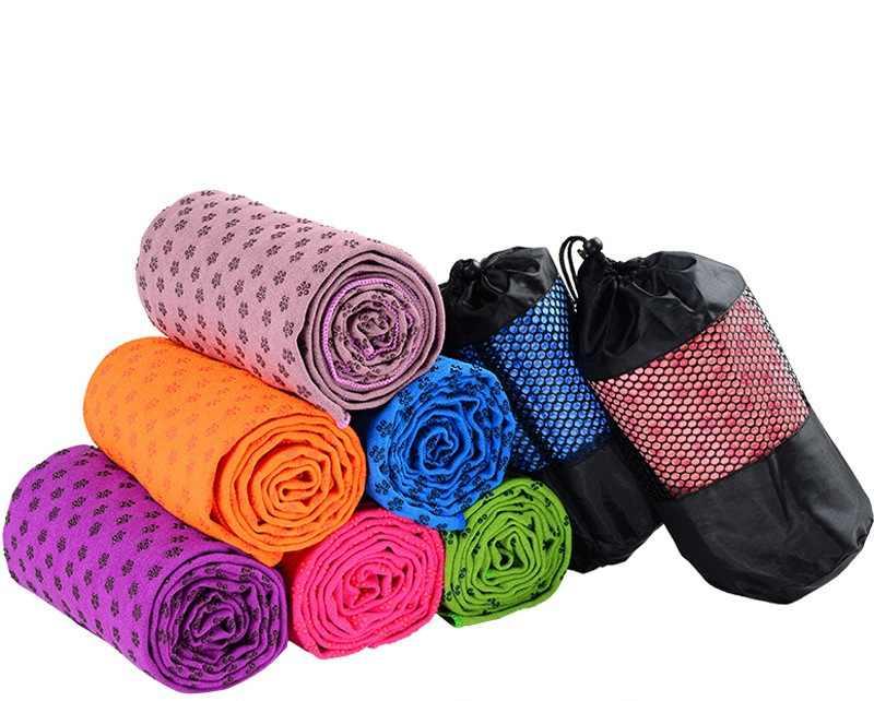 جديد ستوكات الرياضة السفر منشفة لينة ممارسة غطاء منشفة بطانية اليوغا حصيرة عدم الانزلاق toallas سفر رياضة سريعة جاف الملاءمة