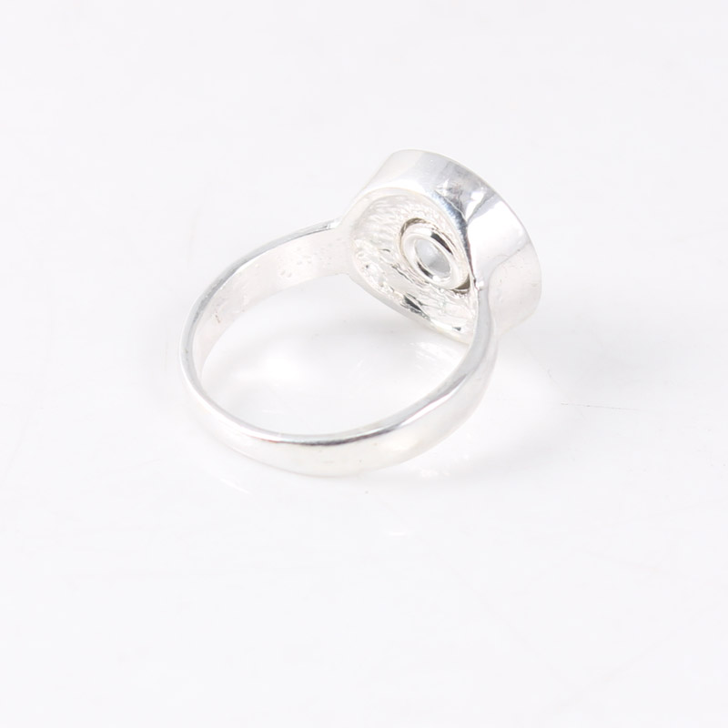 10pcs silver Round 12mm Snap Button Rings Jewelry Snap Button Charms for Women Men Ring Jewelry Wholesale image