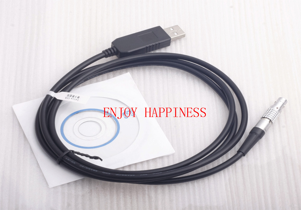 For Sale GEV189 Download USB data transfer Cable for Leica Total Stations, fit win8 brand new gev269 usb data transfer cable 806095 connects ts30 tm30 total stations to pc win8