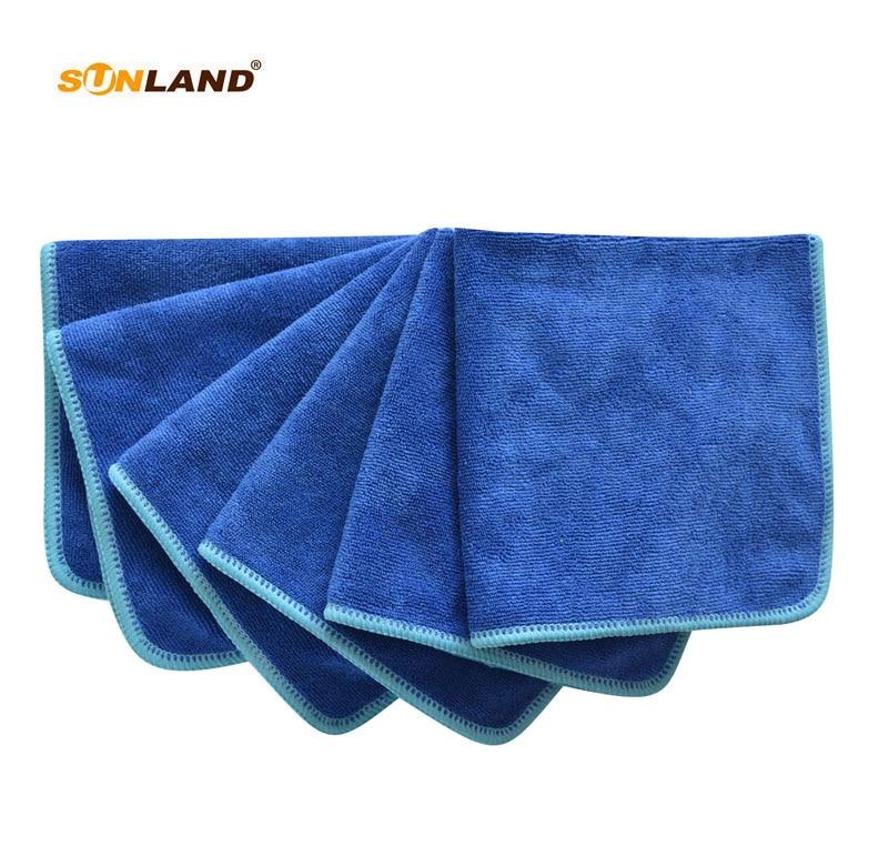 Microfiber Cleaning Cloth Towel Coats Glass Lint Free 50 Towels Washcloth New