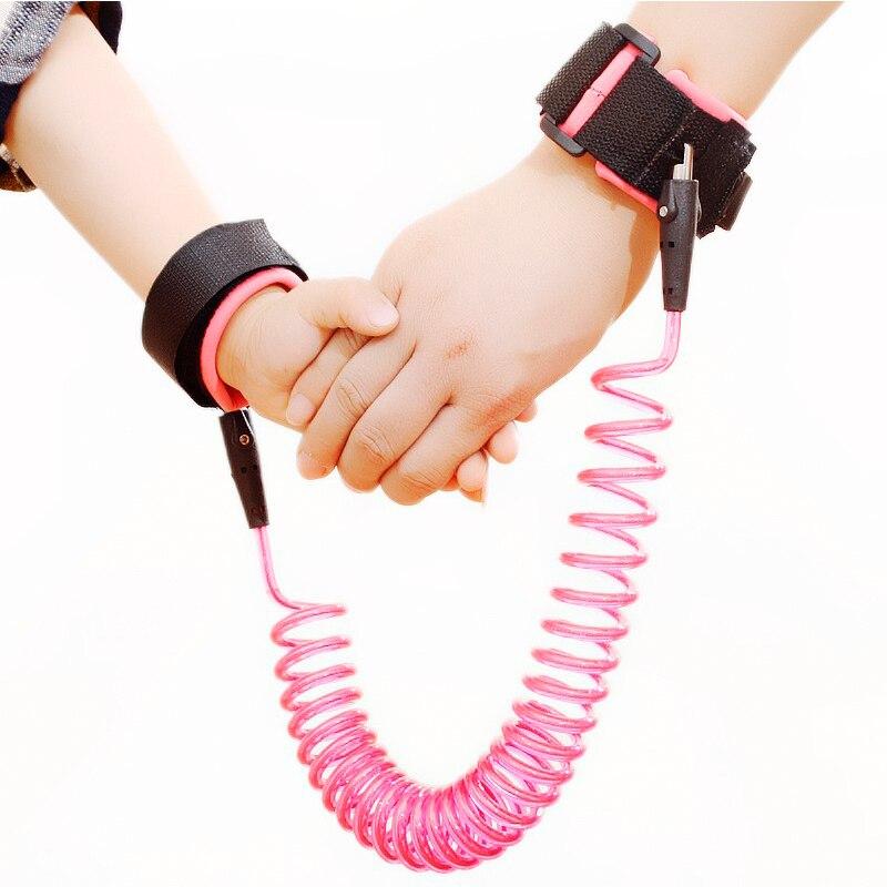 Cintur/ón antip/érdida para beb/é arn/és de seguridad para ni/ños y ni/ñas para caminar correa de seguridad anti p/érdida con doble protecci/ón para la mu/ñeca de rotaci/ón de 360 grados