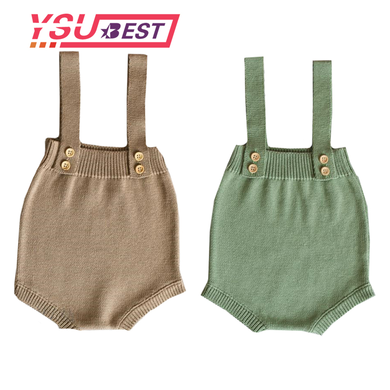 Baby Knitting   Romper   Cute Warm Baby Jumpsuit Newborn Baby Boy Clothes Cotton Kids   Rompers   Infant knitting Overall Baby Jumpsuit
