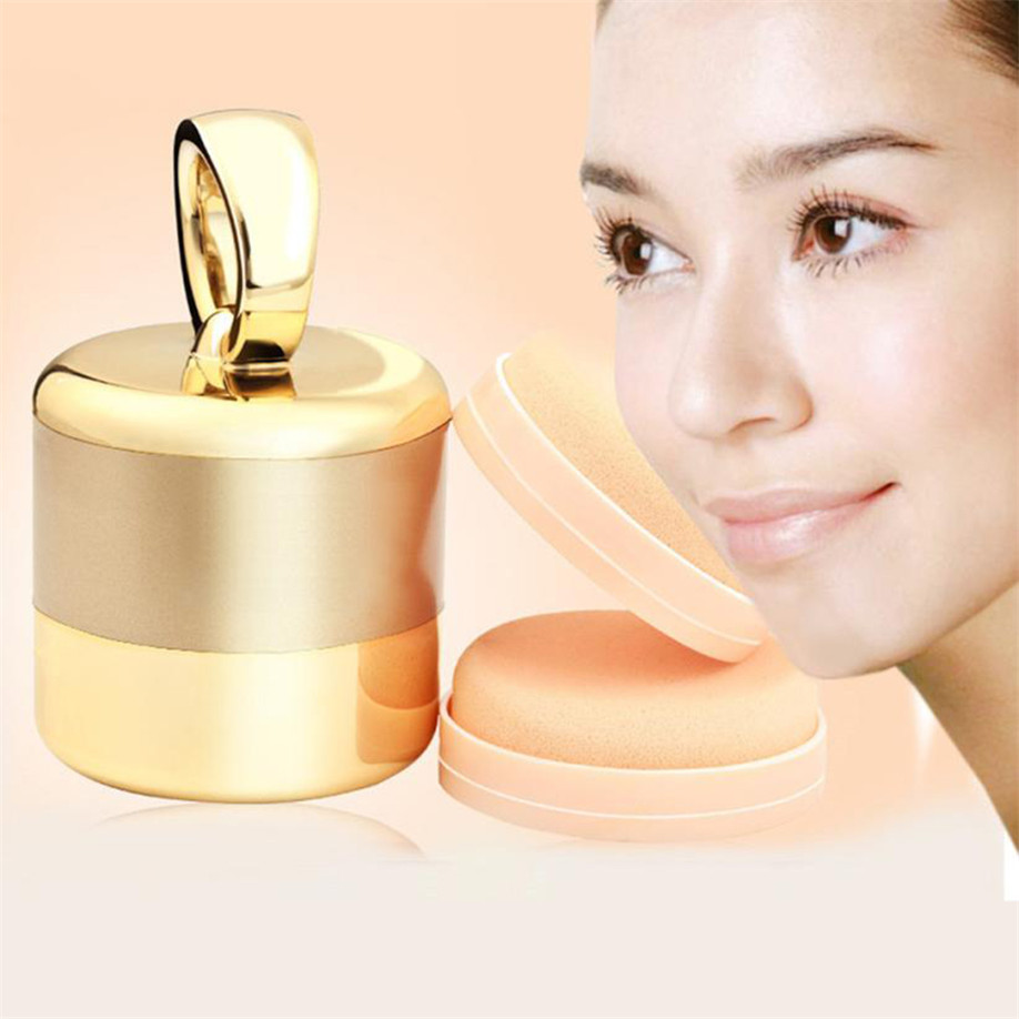 High Quality Vibrating Puff Device Cosmetic Electric Puff Make Up Foundation Applicator Tool Boxed With 2