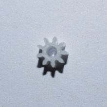 10/100pcs plastic gear / 9 teeth / 2mm holes / M0.5 / motor gear /DIY toy accessories technology model parts 92A(China)