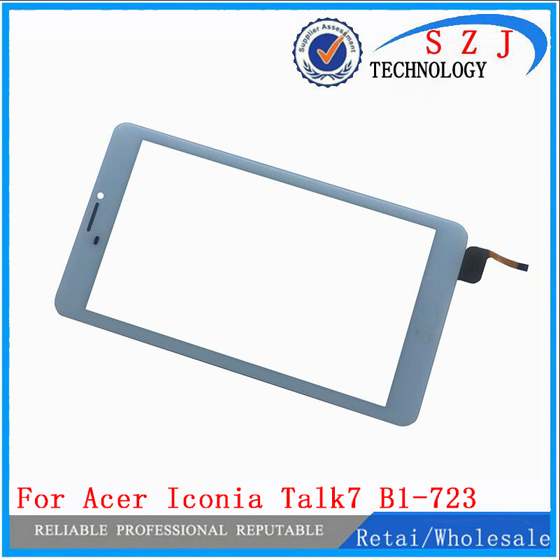 New 7'' inch Touch Screen For Acer Iconia Talk7 B1-723 Touch Panel Digitizer Glass sensor replacement Free Shipping 10pca lot 7 inch for acer iconia one 7 b1 780 tablet pc touch screen digitizer glass sensor replacement parts free shipping