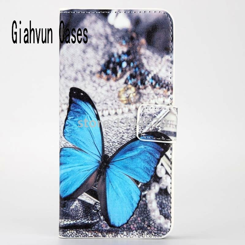 Flower owl Pu Leather Case For Xiaomi5 Mi5 With Card Holder Back Stand Cover Phone Cases Bags Retail free shipping