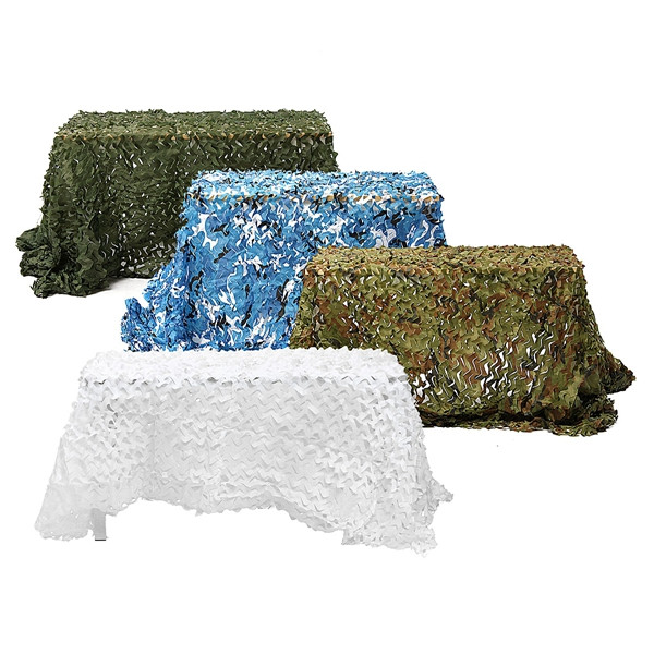 5m*2.5m Hunting Military Camouflage Net Woodland Army training Camo netting Car Covers Tent Shade Camping Sun Shelter wholesale 6m 8m car covers green military camouflage net sun shelter camouflage net tent car covers camouflage netting tent