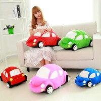 HaoKu 2018 modelli di moda fresco modello di auto giocattoli di peluche regali per inviare i ragazzi ragazze bambini giocattoli regali di compleanno Rosso rosa verde blu