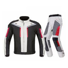 Cycling Professional Motorcycle Suit Jacket Pants Winter Warm Safety Visibility Protective Racing Clothing All Season цена
