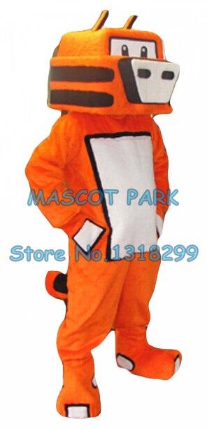 Robot tigre mascotte costume adulte taille dessin animé chat tigre thème anime cosply costumes carnaval déguisements kits 2912