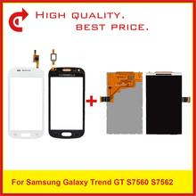 High Quality 4.0 For Samsung Galaxy Trend S7562 GT-S7562 GT-S7560 S7560 GT-S7560M S7560M Lcd Display Screen