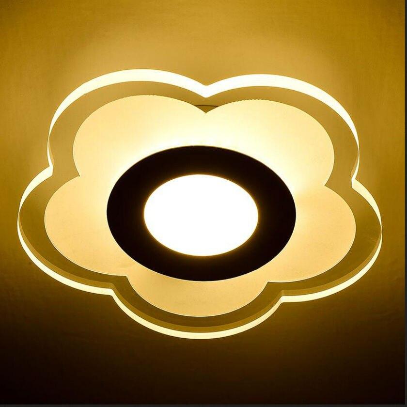 Modern Acrylic Led Ceiling Lights Aisle Balcony Lamp Abajur Luminarias For Surface Mounted Entrance Light Lamparas de techo ceiling light lamp for entrance led