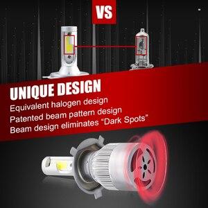 Image 4 - Lâmpadas led para luzes de carro, recém chegadas h4 h7 9003 hb2 h11 led h1 h3 h8 h9 880 9005 9006 h13 faróis automotivos, 9004 9007, 12v